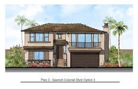spanish colonial house plans new california homes pismo beach terraces at las ventanas