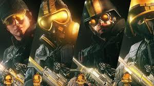 Buy Rainbow Six Siege Gold Rainbow Six Siege Pro League Gold Sets Gameplay Weapon Skins