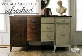 Vintage Buffets Sideboards Vintage Sideboard Refreshed Prodigal Pieces