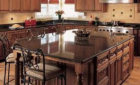 black granite kitchen island granite kitchen islands here s an wide rectangular ki