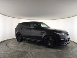 modified range rover used land rover range rover sport v8 svr urban v2 black for sale