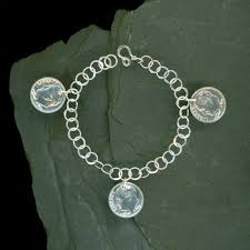 charm bracelet chain silver images 18 best dimes images coins coin jewelry and charm jpg