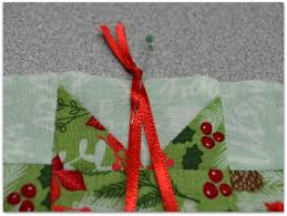 quiltscapes christmas in july quick ornament tutorial