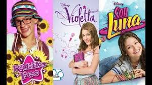 imagenes de soy luna vs violetta violetta patito video