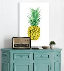 say aloha to the pineapple trend with these tropical rooms the