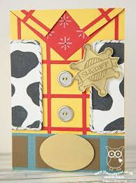 the crafty owl toy story woody cowboy birthday card