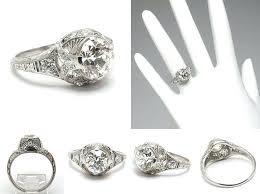 Art Deco Wedding Rings by Art Deco Diamond Rings For Sale Vintage Wedding Rings For Sale