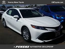 toyota camry 2018 new toyota camry le automatic at kearny mesa toyota serving