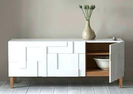 contemporary sideboard table modern grey aged oak buffet w
