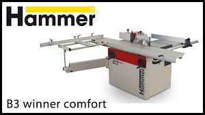 sliding table saw for sale hammer woodworking c3 31 part1 youtube