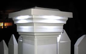 4x4 post cap lights regal 4x4 pvc solar fence post cap light