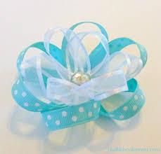 flower bow ribbon flower bow the ribbon retreat