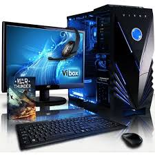 pc de bureau gaming vibox vision pack 2 pc gamer amd 2 radeon 8370d graphiques