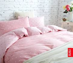 Polka Dot Comforter Queen Cosy Pink Polka Dot Bedding Best Decorating Home Ideas With Pink