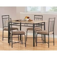 5 Chair Dining Set Dorel Living Mainstays 5 Wood Metal Dining Set