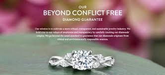 conflict free engagement rings inside the conflict free diamond scam costing online buyers