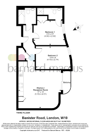Banister Road 2 Bed Flat For Sale In Banister Road Kensal Rise London W10