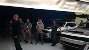 fast and furious cars vin diesel did vin diesel leak the challenger srt demon 95 octane