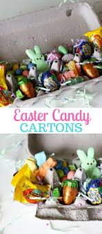 candy basket ideas a unique easter basket idea easter candy cartons painted confetti