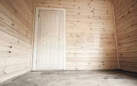 chambre du vide porte dans la chambre vide fond en bois d intérieur de maison photo