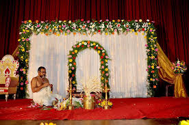 hall decor ideas wedding simple marriage stage decoration images