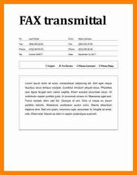 7 cover letter for fax cover title page