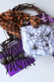 dollar store spider halloween wreath 20 halloween ideas i dig