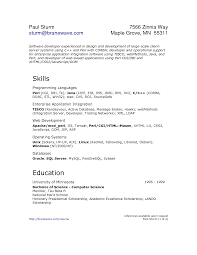 Software Developer Resume Example Java Developer Resume Pdf Resume For Your Job Application
