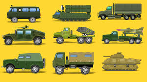 army vehicles army vehicles for kids street vehicles learning vehicles name