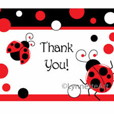ladybug party hat banner party favor bag thank you card pdfs