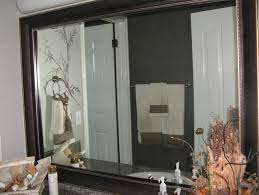 bathroom mirror frame kit home design ideas