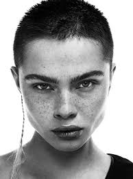haircut photos freckles 241 best bald buzzed and badass images on pinterest hairstyles