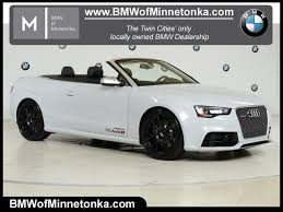 wayzata audi audi rs 5 convertible in minnesota for sale used cars on