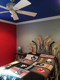 Hockey Teen Bedroom Ideas Best 10 Year Old Hockey Bedroom Lets Go Rangers Diy