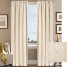 Floral Jacquard Curtains Better Homes And Gardens Metallic Floral Shimmer Jacquard Curtain
