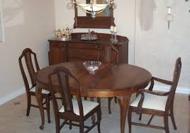 Mahogany Dining Room Table And 8 Chairs How To Identify Thomasville Furniture Mahogany Dining Room Table