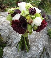 wedding flowers for october for october burgundy green and white wedding flowers