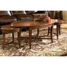 Small Oval Coffee Table by I Think This Is Neat Magnussen T1171 Kingston Wood Bunching