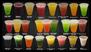 complete list of flavored fruity drinks mixed with green tea yelp