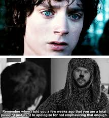 Wilfred Meme - the lord of the rings would have been so much sassier had wilfred
