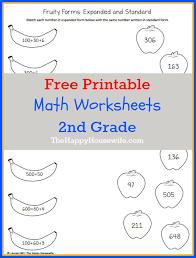 second grade math worksheets printable worksheets