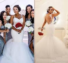 2017 african romantic wedding dresses new sweetheart lace