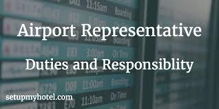 Front Desk Hotel Responsibilities Airport Representative Job Description