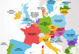 map without country names what every european country is the worst at jobfinder work and