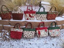 gift bags christmas patchouli moon studio fabric christmas gift bags