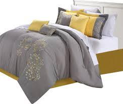 Octopus Comforter Set Yellow Grey Comforter Set Houzz