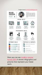 modern resume format 2016 latest resume formats today if you want to get a job offer you