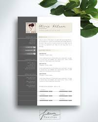 Word Template For Resume Resume Template 2 Page Cv Template Cover Letter Instant