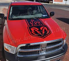 dodge dakota sport decals flaming bedside decal decals graphics fits dodge ram