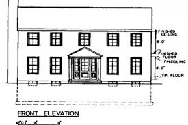simple colonial house plans 23 colonial two story house plans classic colonial home plans